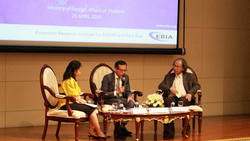 ERIA and Thai Ministry of Foreign Affairs Jointly Launch ASEAN Vision 2040