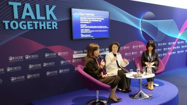 Prof Akiko Yamanaka Speaks at OECD Forum in Paris