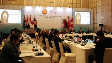 ERIA Holds the 12th Governing Board Meeting