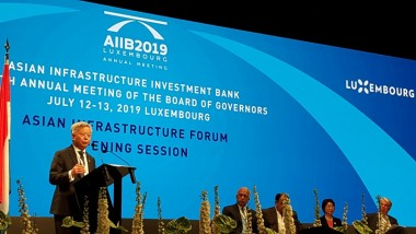 ERIA Attends AIIB Annual Meeting 2019