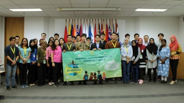 Exchange Students from ASEAN and East Asia Countries Visit ERIA