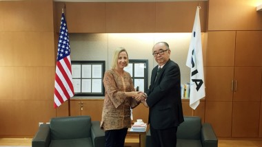 ERIA Receives Courtesy Call from Charge d'Affairs a.i. of US Mission to ASEAN
