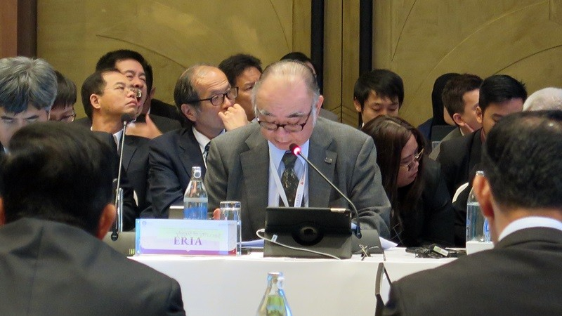 ERIA President Presents Energy Policy Research Outcomes to 13th EAS Energy Ministers Meeting