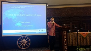 Indonesia's National Planning Agency Holds Workshop on Financing Long-Term Care for the Elderly
