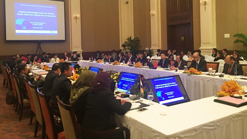 ERIA Participates in the 15th ASEAN Ministerial Meeting on the Environment in Cambodia