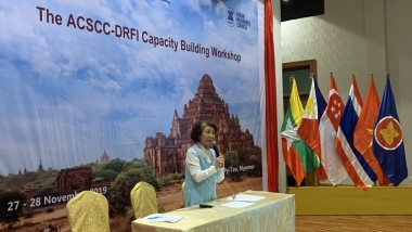 Prof Akiko Yamanaka Speaks at the Regional Workshop on Disaster Risk Financing and Insurance for ASEAN