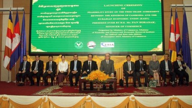 Study Finds Many Potential Benefits from Cambodia and Eurasian Economic Union FTA