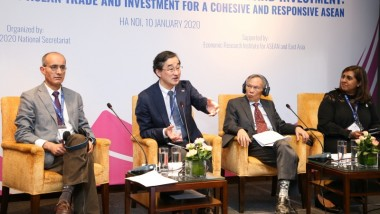 ERIA Takes Part in High-Level Symposium on Intra-ASEAN Trade and Investment