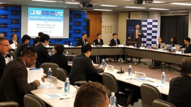 ERIA Presents Research at 8th OECD-AMRO-ADB/ADBI-ERIA Asian Regional Roundtable