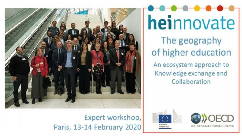 ERIA Participates in OECD Expert Group on Higher Education Institutions and Innovation Ecosystems