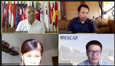 ERIA –UNESCAP Joint Virtual Policy Dialogue on 'The Economic and Social Survey of Asia and the Pacific 2020'