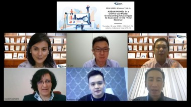 ERIA Holds Webinar on ASEAN MSMEs in a COVID-19 World