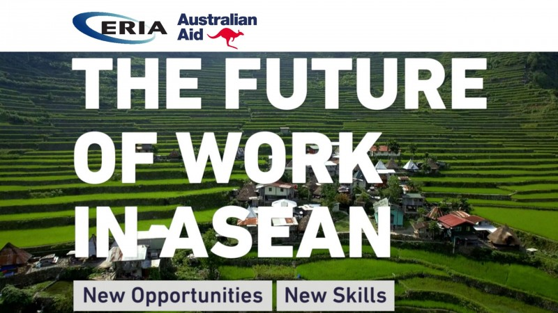 ERIA Presents Video on the Future of Work in ASEAN