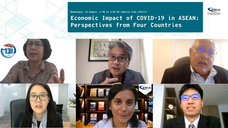 ERIA Hosts Webinar on Economic Impact of COVID-19 in ASEAN: Perspectives from Four Countries