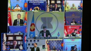 ERIA Presents to ASEAN Foreign Ministers