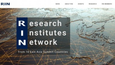 ERIA's Research Institutes Network Launches Its Website