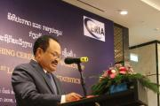 H.E. Dr Khammany Inthirath, the Minister of Energy and Mines, Lao PDR