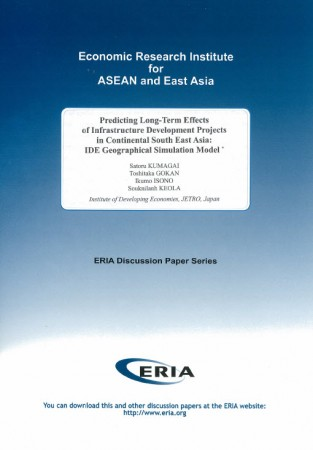 Predicting Long-Term Effects of Infrastructure Development Projects in Continental South East Asia: IDE Geographical Simulation Model