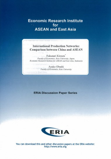 International Production Networks: Comparison between China and ASEAN