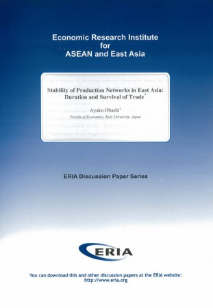 Stability of Production Networks in East Asia:Duration and Survival of Trade