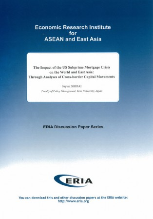 The Impact of the US Subprime Mortgage Crisis on the World and East Asia:Through Analyses of Cross-border Capital Movements