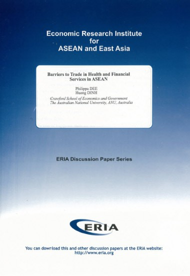 Barriers to Trade in Health and Financial Services in ASEAN