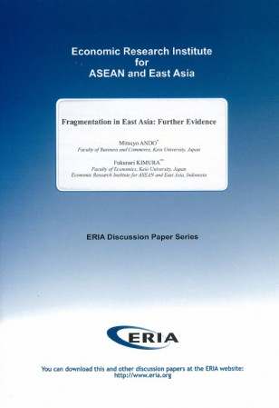 Fragmentation in East Asia: Further Evidence