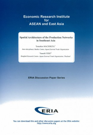 Spatial Architecture of the Production Networks in Southeast Asia
