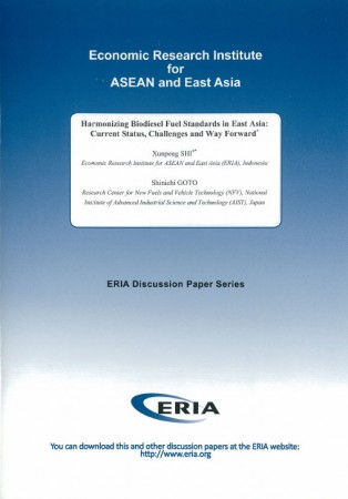 Harmonizing Biodiesel Fuel Standards in East Asia: Current Status, Challenges and Way Forward