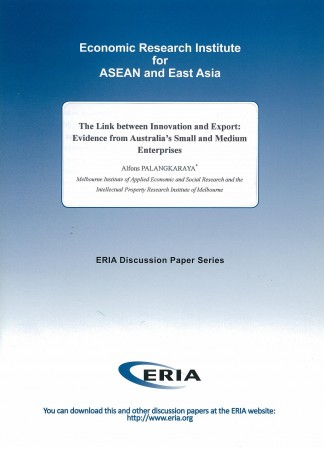 The Link between Innovation and Export: Evidence from Australia's Small and Medium Enterprises