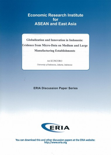 Globalization and Innovation in Indonesia: Evidence from Micro-Data on Medium and Large Manufacturing Establishments
