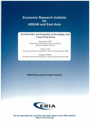 Growth Policy and Inequality in Developing Asia: Lesson from Korea