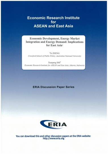 Economic Development, Energy Market Integration and Energy Demand: Implications for East Asia