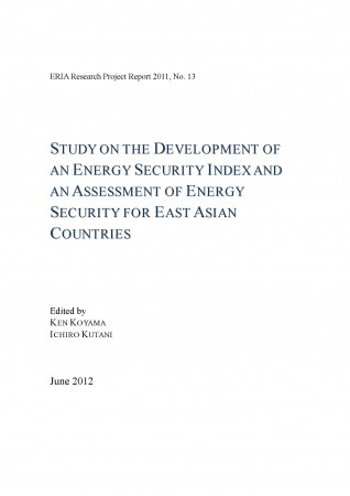 Study on the Development of an Energy Security Index and an Assessment of Energy Security for East Asian Countries