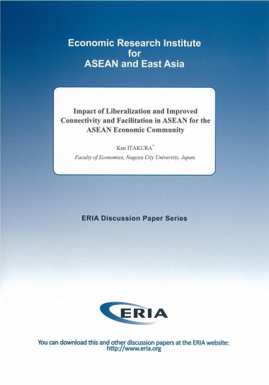 Impact of Liberalization and Improved Connectivity and Facilitation in ASEAN for the ASEAN Economic Community