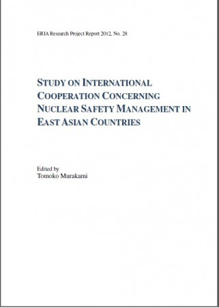 Study on International Cooperation Concerning Nuclear Safety Management in East Asian Countries