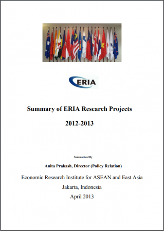Summary of ERIA Research Projects 2012-2013
