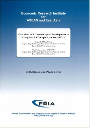 Education and Human Capital Development to Strengthen R&D Capacity in the ASEAN