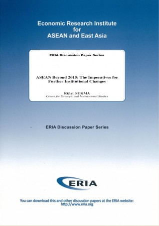 ASEAN Beyond 2015: The Imperatives for Further Institutional Changes