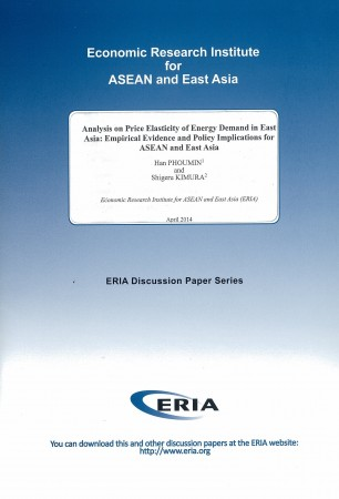Analysis on Price Elasticity of Energy Demand in East Asia: Empirical Evidence and Policy Implications for ASEAN and East Asia