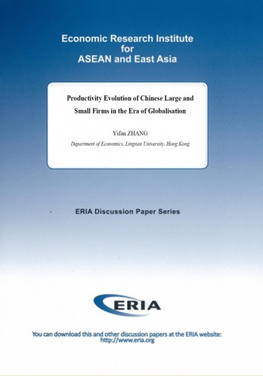 Productivity Evolution of Chinese Large and Small Firms in the Era of Globalisation