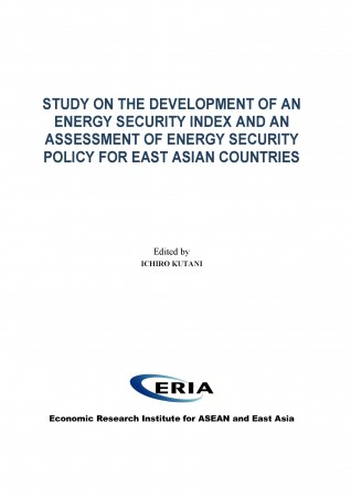 Study on the Development of an Energy Security Index and An Assessment of Energy Security Policy for East Asian Countries