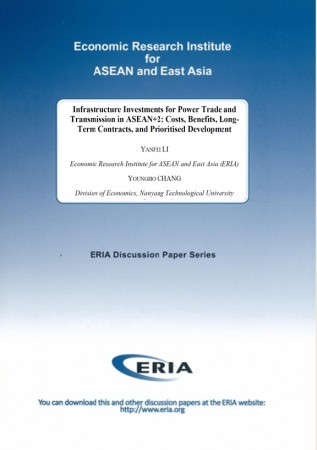 Infrastructure Investment for Power Trade and Transmission in ASEAN+2: Costs, Benefits, Long-Term Contracts, and Prioritised Development