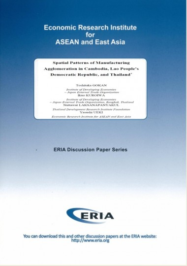 Spatial Patterns of Manufacturing Agglomeration in Cambodia, Lao People's Democratic Republic, and Thailand