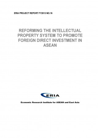 Reforming The Intellectual Property System to Promote Foreign Direct Investment in ASEAN