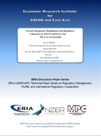 Towards Responsive Regulations and Regulatory Coherence in ASEAN and East Asia: The Case of Australia