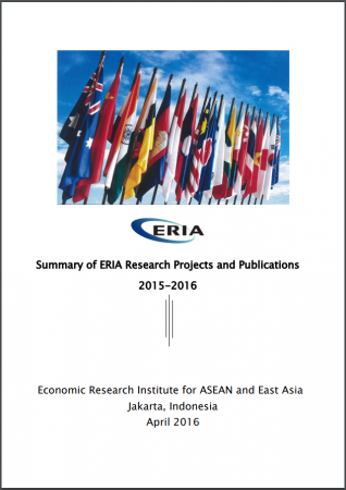 Summary of ERIA Research Projects 2015-2016