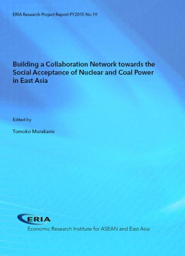 Building a Collaboration Network towards the Social Acceptance of Nuclear and Coal Power in East Asia