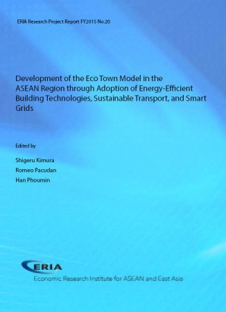 Development of the Eco Town Model in the ASEAN Region through Adoption of Energy-Efficient Building Technologies, Sustainable Transport, and Smart Grids