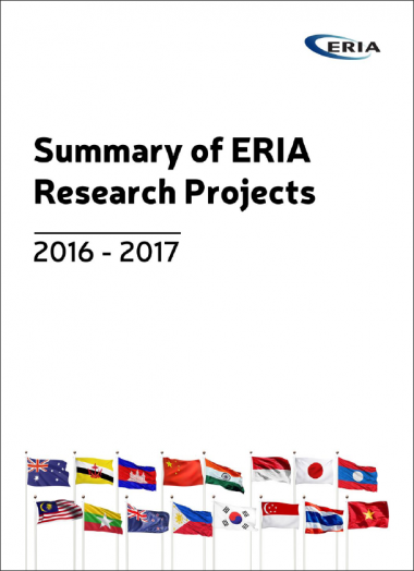 Summary of ERIA Research Projects 2016 - 2017